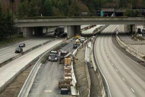 road construction on 520