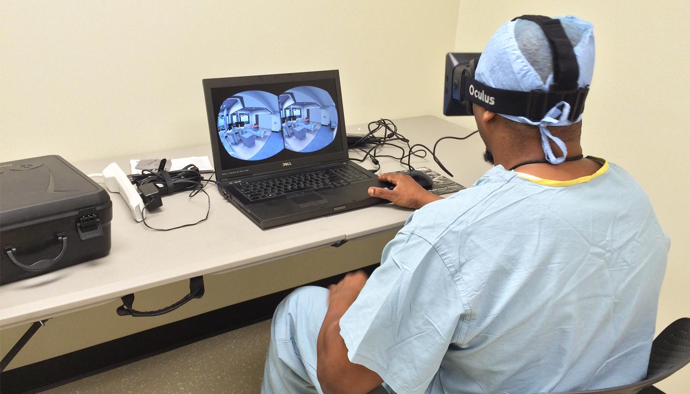 Virtual Reality photo