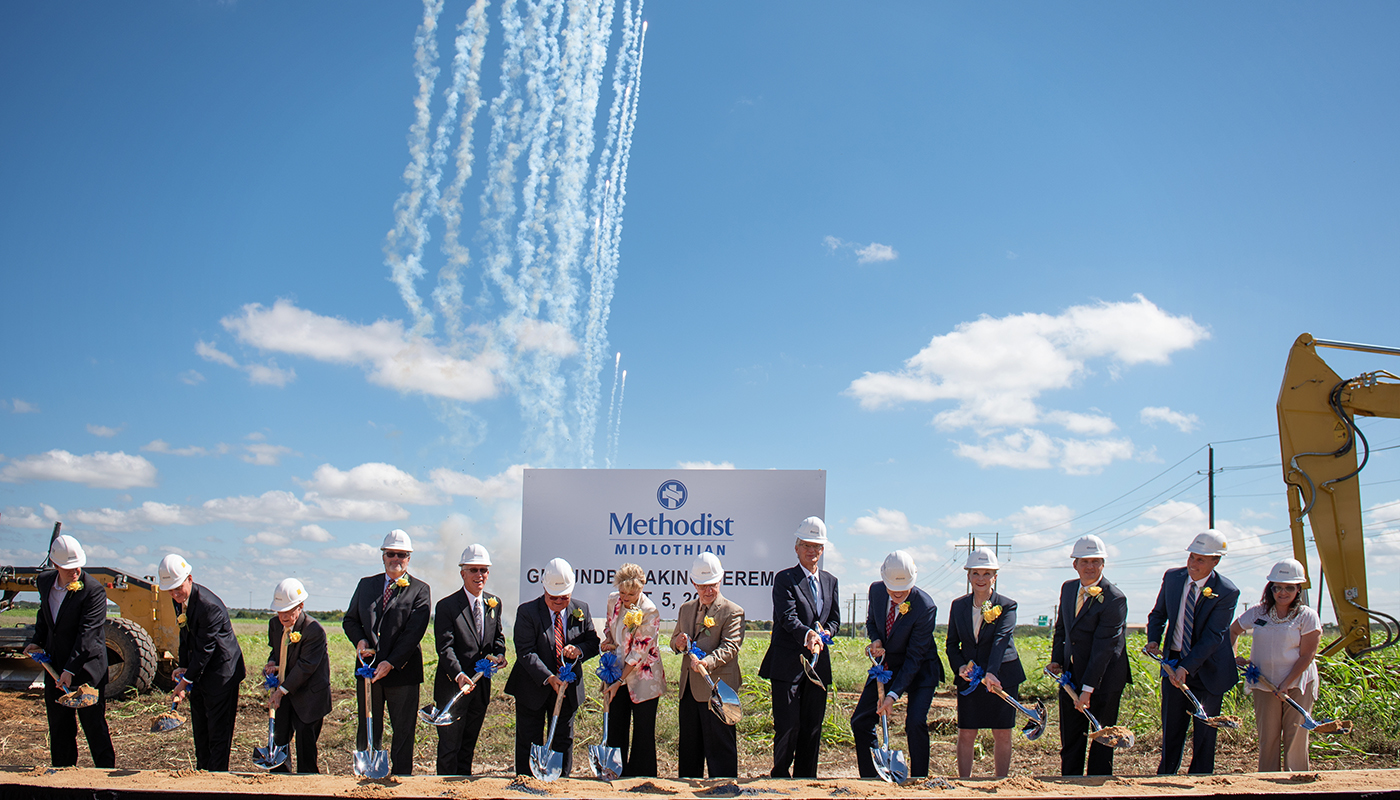 Methodist Midlothian Groundbreaking